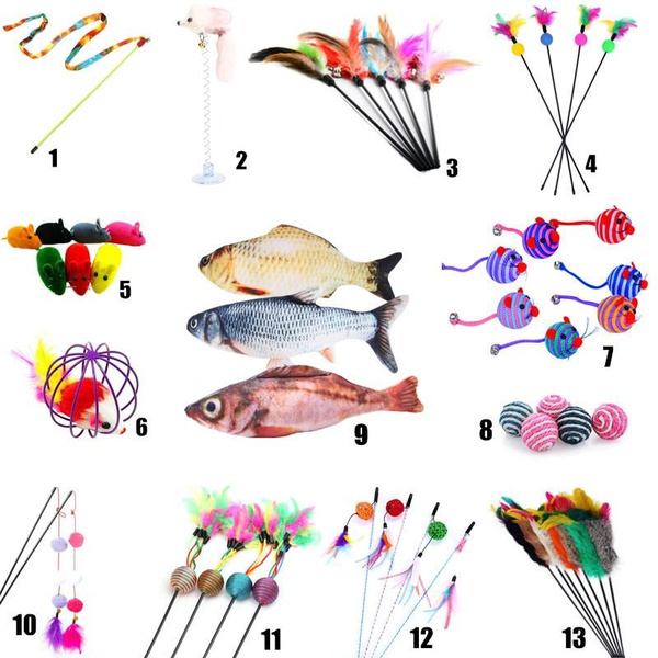 feathertoy, cattoy, electricfish, Electric