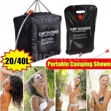 Shower, Outdoor, camping, water