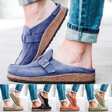 Summer, Fashion, Platform Shoes, Flats