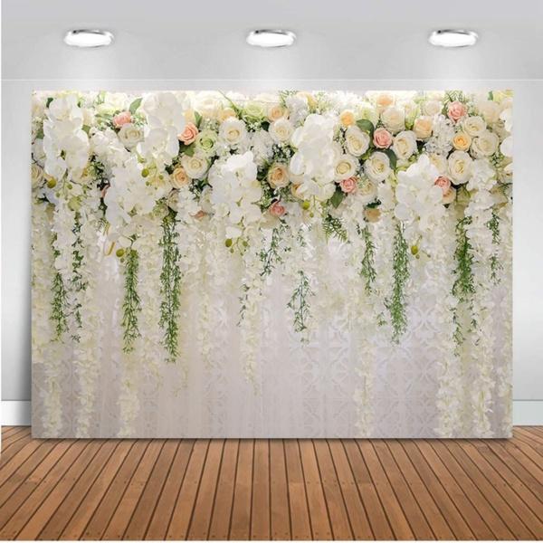 weddingparty, decoration, wallflower, Rose