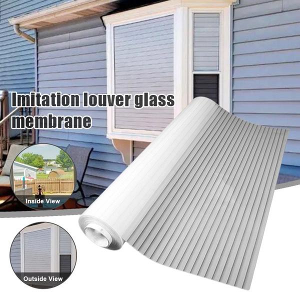 glassblind, windowsticker, Office, Home & Living