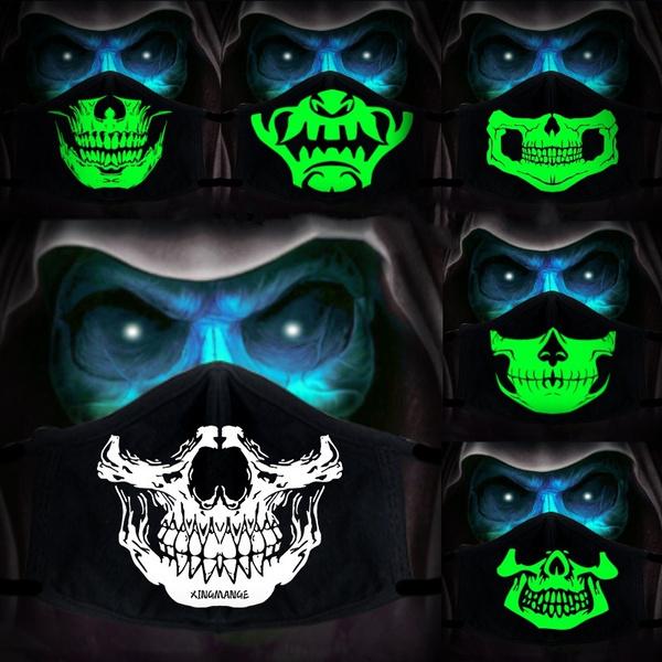 Goth, dustproofmask, mouthmask, skull