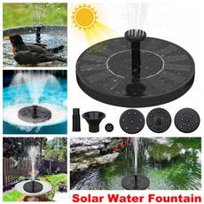 decoration, waterfountainforgarden, solarfountainwaterpump, Garden
