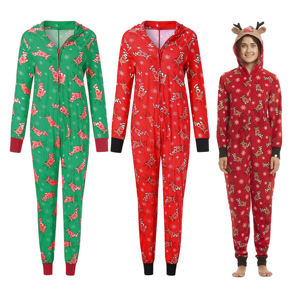 nightwear, hooded, Christmas, Family