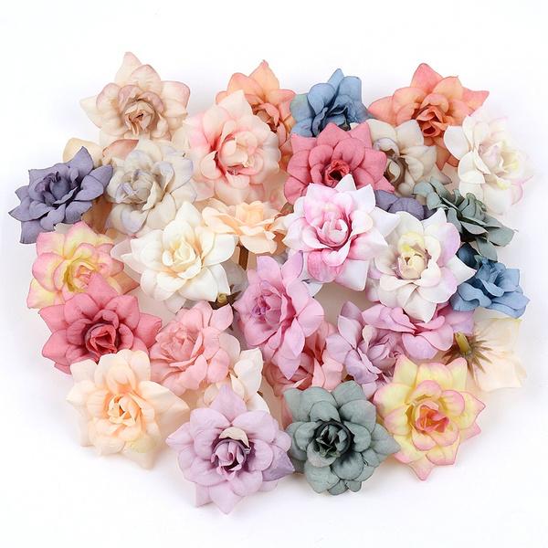 Head, Garland, peonyflowerhead, silkflower