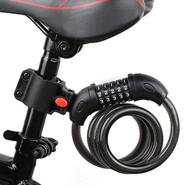 Steel, Bicycle, bikecablelock, Sports & Outdoors