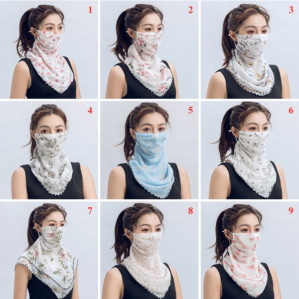 Fashion Scarf, mouthmask, handkerchief, silk