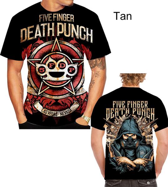 Fashion, 3D T-shirt, fivefingerdeathpunchtshirt, Print