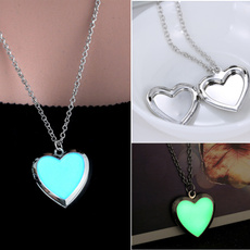 Heart, luminousnecklace, Jewelry, fluorescence