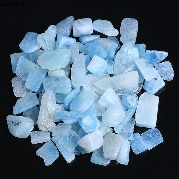 crystalhealing, aquamarinegravel, naturalaquamarine, crystalstone