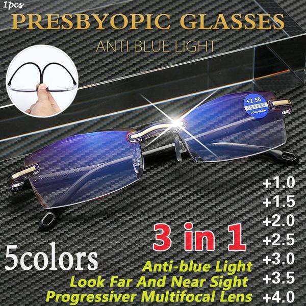 Glasses for Mens, lights, fashionreadingglasse, framelessglasse