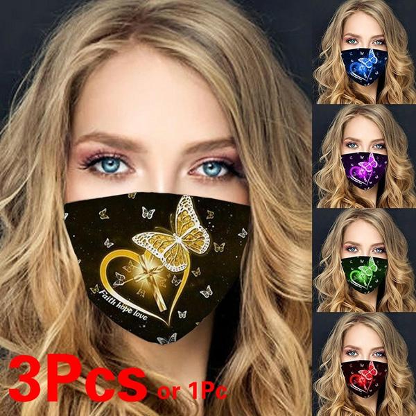 butterfly, blackmouthmask, Cotton, mouthmask