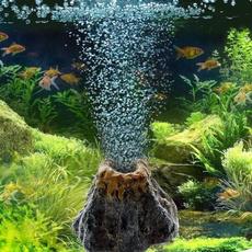 volcanoshape, Decor, fishaquarium, Tank