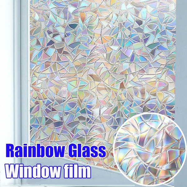 rainbow, stained, windowsticker, Colorful