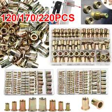threadnut, Steel, rivetingtool, Zinc