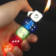 flintstonelighter, kerosenelighter, campinglighter, Dice