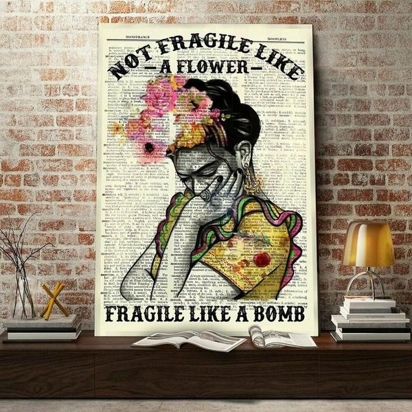 fragilelikeabomb, Flowers, art, Mexico