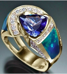 Blues, DIAMOND, Jewelry, gold