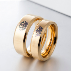 foreverlovering, weddingringset, titaniumsteelcouplering, Jewelry