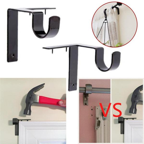 curtainrod, brackethang, Home & Living, Frame