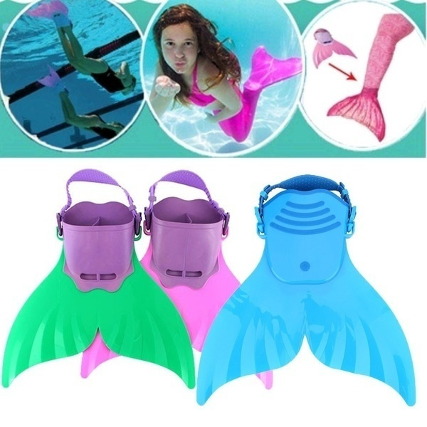 swimmingfin, Sports & Outdoors, swimmablemermaidtail, footstrap