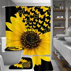 butterfly, Baño, Bathroom Accessories, tolietcovermat
