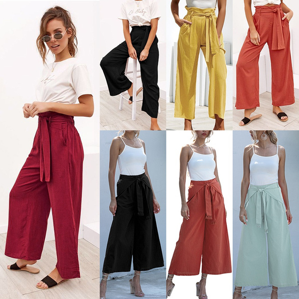 Women Pants, Summer, trousers, women long pants