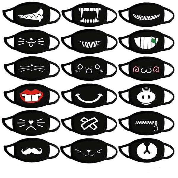 Cotton, influenza, mouthmask, Elastic
