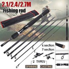 fishingpolecarbon, Outdoor, freshwaterfishing, fishingpolerod