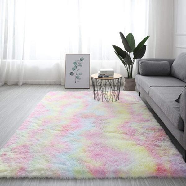 rainbow, living room, Home Decor, shaggyrug