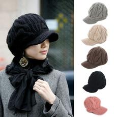 womenpeakedcap, Outdoor, Winter, Hats