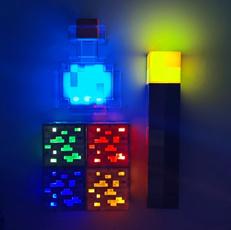 Toy, led, lights, Interior Design