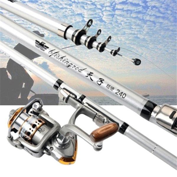 luresfishingrod, Bass, fishingrod, telescopicfishingrod