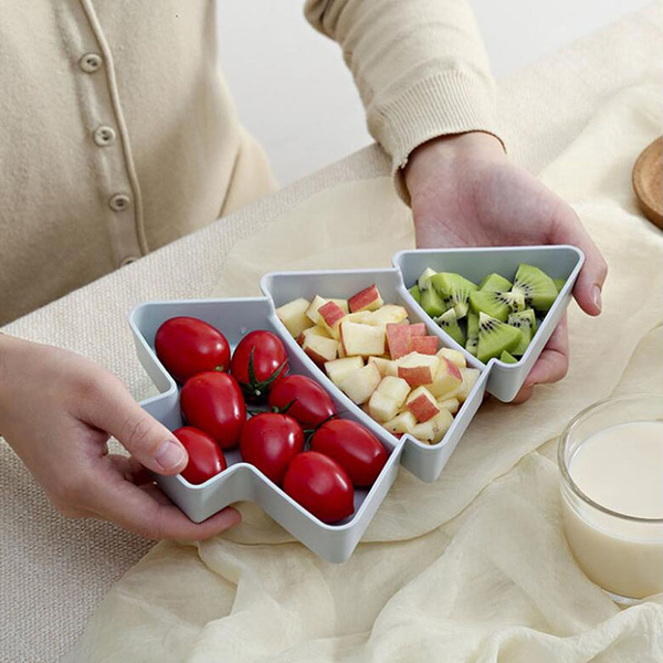 Box, compartmentplate, melonseedsdriedfruitbox, Food
