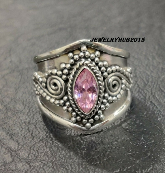 pink, Sterling, Turquoise, Princess