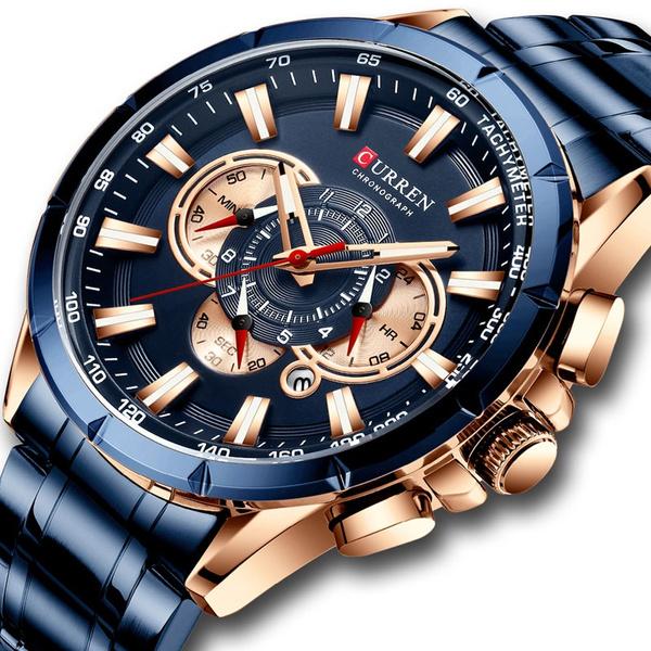 currensportswatch, Chronograph, Men Business Watch, curren8363