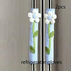 refrigeratorhandle, Flowers, Door, Home Decor
