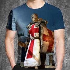 knightstemplarshirt, Funny, Tees & T-Shirts, Sleeve