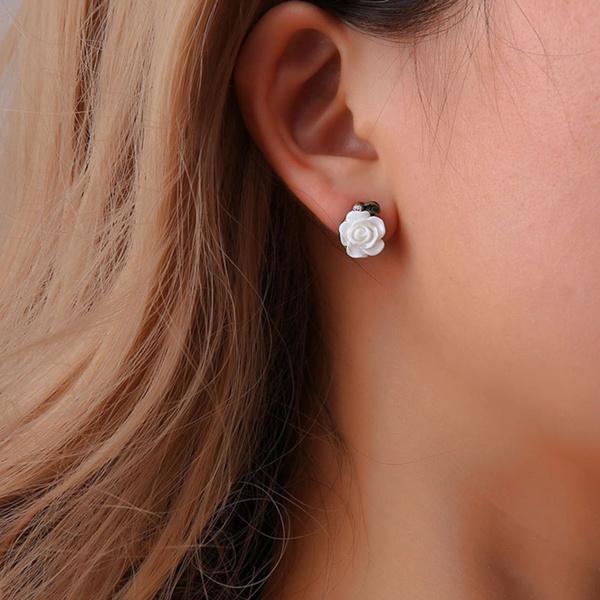 Jewelry, Flowers, piercingjewelry, earexpander