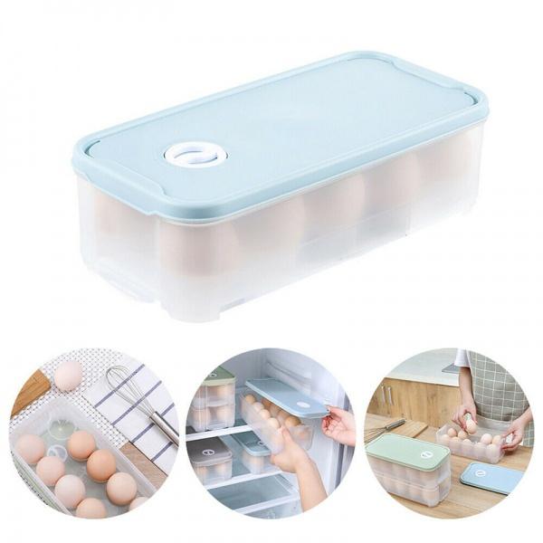 Box, eggholder, plasticeggholder, refrigeratoreggsholder
