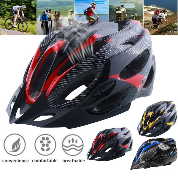 MTB Road Bike Bicycle Helmet Outdoor Mountain Cycling Adult Sports Safety Helmet