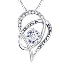 Cubic Zirconia, Heart Shape, Love, Jewelry