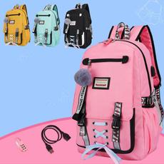 student backpacks, travel backpack, School, usb