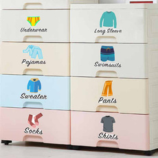 PVC wall stickers, clothinglabel, clothesclassificationlogo, Home & Living