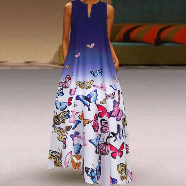 butterfly, Summer, Plus Size, bohemia