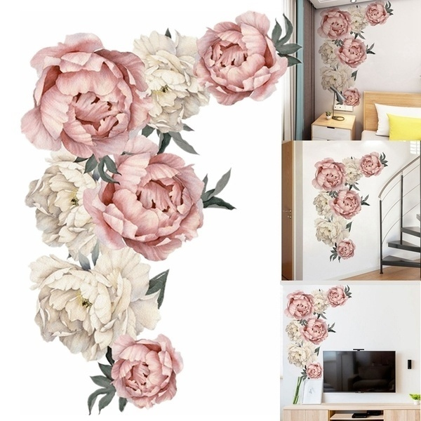 Home & Kitchen, Decor, Flowers, artdecalsticker