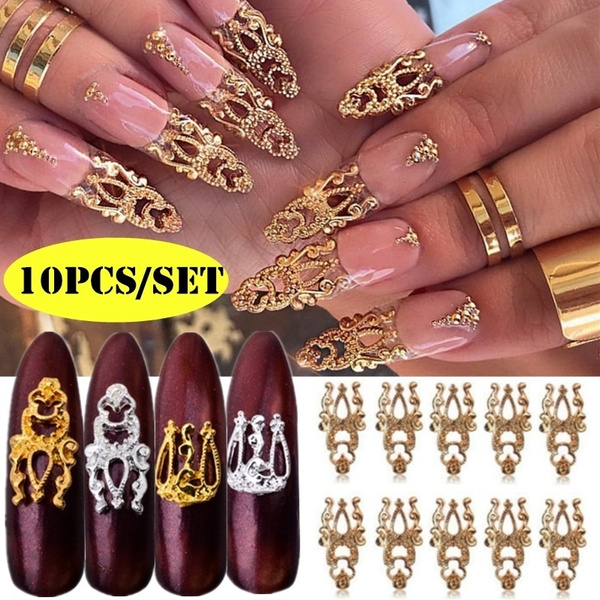 nail decoration, decoration, nail stickers, Glitter