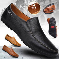 Plus Size, Office, casual leather shoes, casual shoes for men