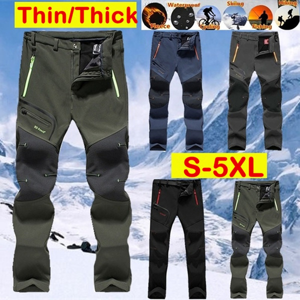 Plus Size, waterproofpantmen, Hiking, camping