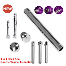 Plug, water, vaginalcleaning, Stainless Steel